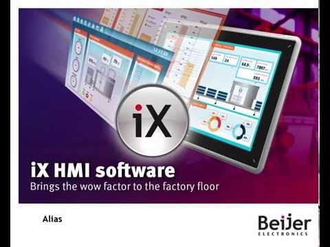 Alias in iX Developer. Video 11 by Beijer Electronics
