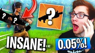 This LEGENDARY Weapon in Fortnite Is IMPOSSIBLE To Find! (0.05% DROP RATE!)