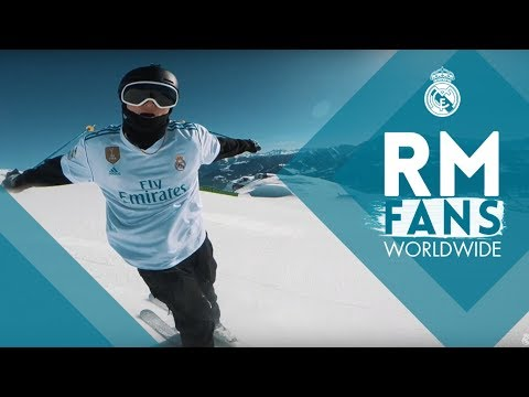 Crazy Skiing with Cristiano Ronaldo's shirt by Andri Ragettli