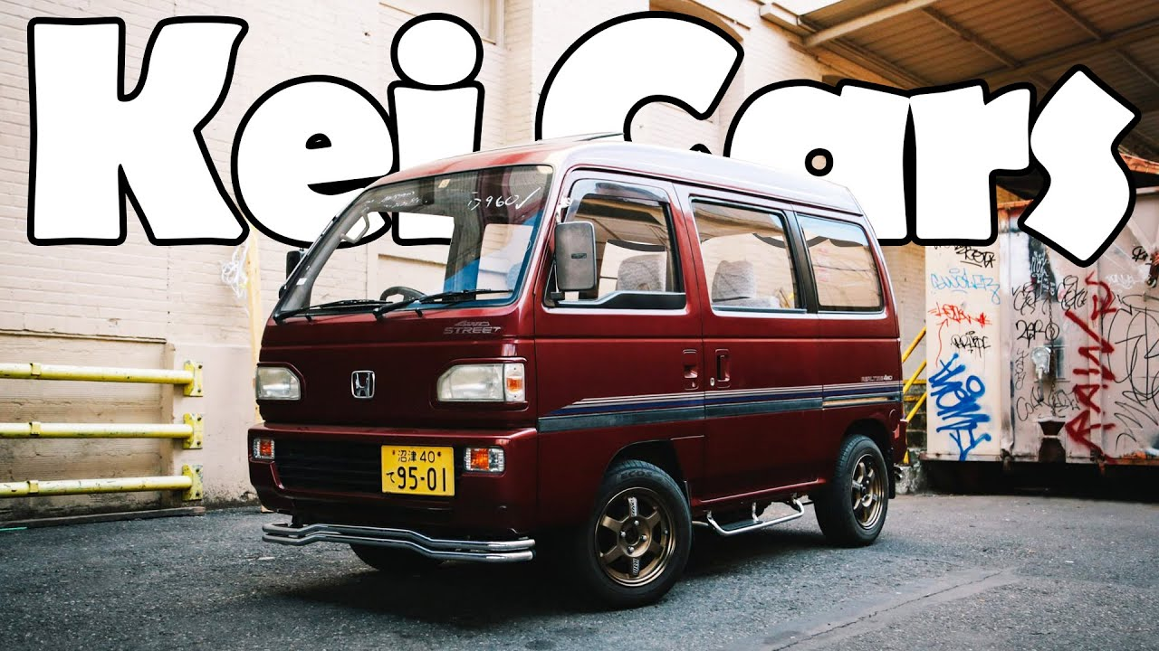 Most Lovable Japanese Kei Cars