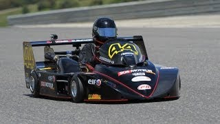 Julien GOULLANCOURT Superkart LEDENON 2013 Course 1
