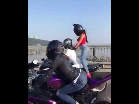 CHICAS MANEJANDO SUPER MOTOS/ESTE VIDEO TE HARA EL DIA