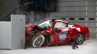 Crash Tests Мощные масл кары Мустанг Камаро Челенджер