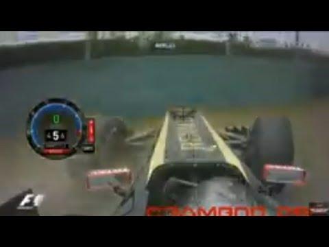 F1 2011 Crash Compilation