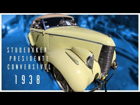 PROGRAMA Nº 484 - Studebaker 1938 – Presidente conversível