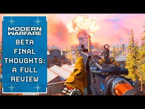 Modern Warfare: A Final FULL Beta Review (The Good & Bad)