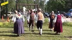 Folk dance - Hamburgspolska, Pyttis  26.07.2014