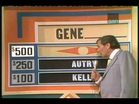 Match Game '75: Gene BLANK