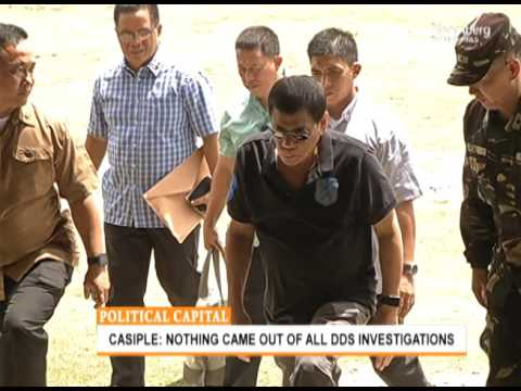 POLITICAL CAPITAL | Hearing on Extrajudicial Killings