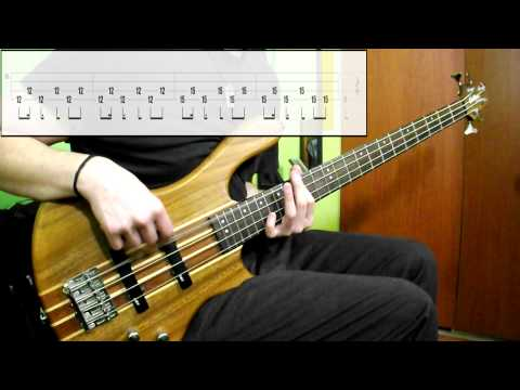System Of A Down - Toxicity (Bass Cover) (Play Along Tabs In Video)