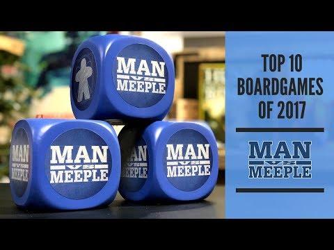 Top 10 Board Games of 2017 by Man Vs Meeple