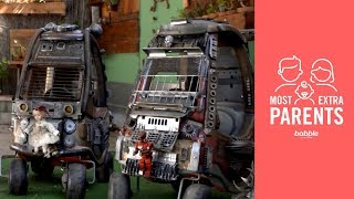 Parents Transform Toy Cars into Post-Apocalypse Mobiles | Most Extra Parents by Babble