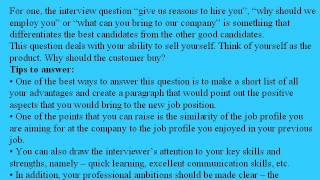 9 financial specialist interview questions and answers