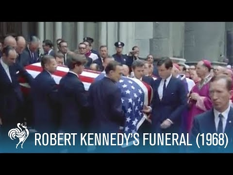 Robert Kennedy Funeral (1968) | British Pathé