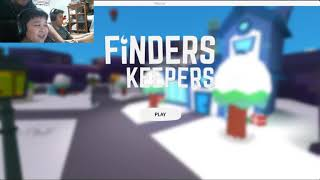 MINECRAFT IN ROBLOX (ROBLOX FINDERS KEEPERS) by Ryu & Ray