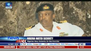Water Security: Nigerian Navy Embarks On Sea Exercise