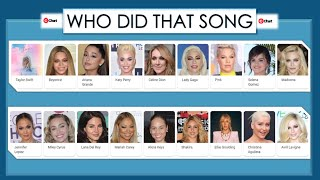 Who Did that Song #4