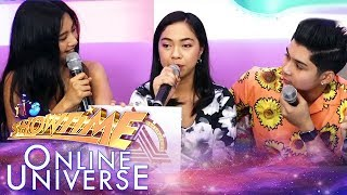 Mariane Osabel shares reaction after winning the golden mic  | It's Showtime Online Universe