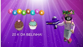 roblox-FIZ UMA FESTA PARA ISABELLA CANDY NO ROBLOX!-Bloxburg