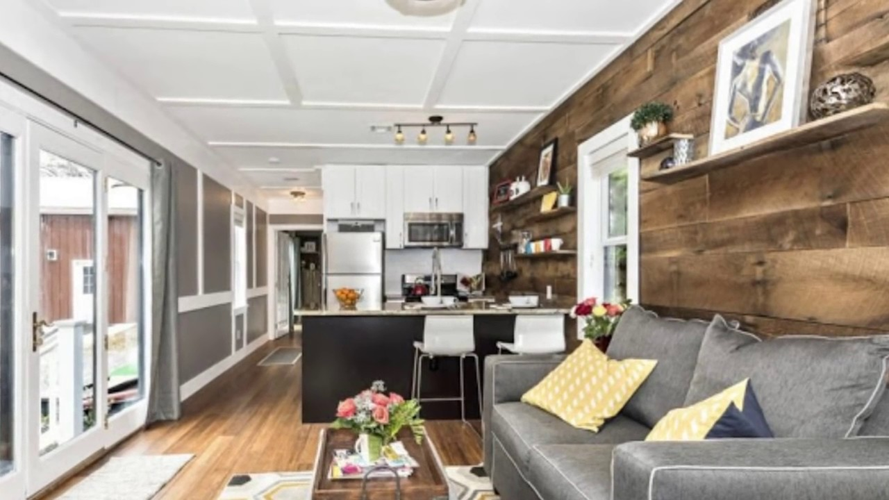 top 3 luxurious tiny houses with a split level floor plan youtube