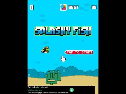 Splashy Fish High Score - The Flappy Bird Alternative
