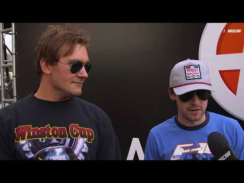 Backstage with Clive Standen and Ryan Blaney