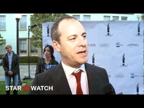 David Nevins red carpet interview at 26th Israel Film Festival