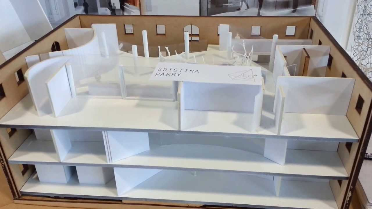 Nottingham Trent Uni Architecture Degree Show