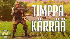 TIMPPA KÄRRÄÄ | Fortnite Battle Royale Suomi