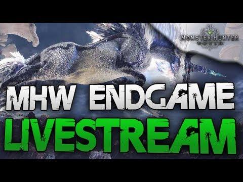 Kampfgehärteter & gehäreter Endgame Livestream - Monster Hunter World Deutsch - Alle Drachenälteste thumbnail