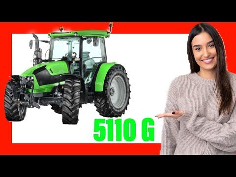 DEUTZ FAHR  5110 G 🚜 [New Tractor 2021] 🌽