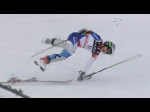 Lara Gut suffers cartwheeling crash  - from Universal Sports
