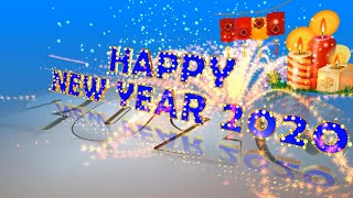 Greetings for Happy New Year 2020 Free Animated Ecards