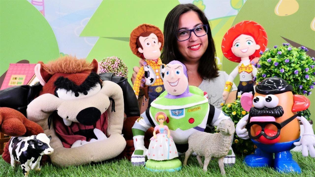 Eğlenceli video. Oyuncak hikayesi kahramanları Buzz'la tanışıyorlar!