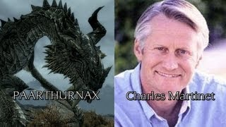 Characters and Voice Actors - ELDER SCROLLS V: SKYRIM