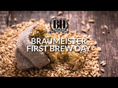 Braumeister First Brew Day - Detailed, Multi-Cam Video