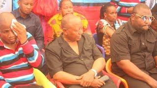 Hatari Sana!! Sumaye Aongea na Polisi Msibani, Atuma ujumbe mzito kwa Magufuli na Serikali Yake