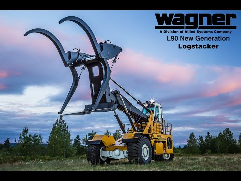 New Generation Wagner L90 Logstacker