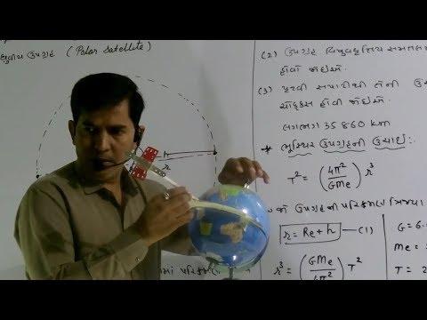 XI-B,Ch-3.10,Satellite-2,Geostationary Satellite(2018)By Mohan Padhiyar(Gujarati Medium)