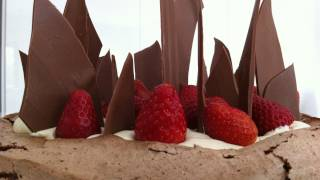 chocolate pavlova meringue recipe How To Cook That Chocolate Dessert