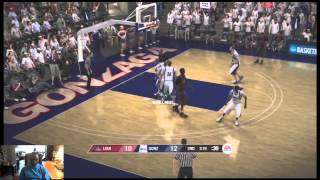 NCAA Basketball 09 - Current Rosters - #2 Louisville Cardinals vs #1 Gonzaga Bulldogs