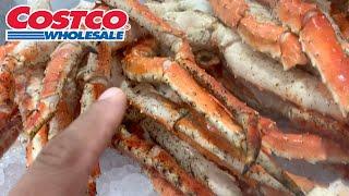 King Crab Leg Shopping At Costco
