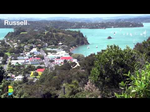 Russell in the Bay of Islands