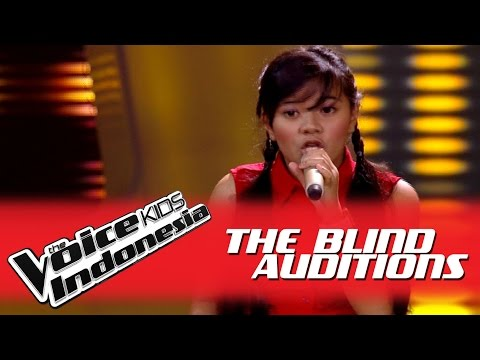"Michelle ""Mamma Knows Best"" I The Blind Auditions I The Voice Kids Indonesia GlobalTV 2016"