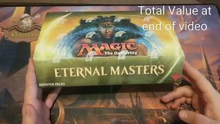Gambar cover GREAT Eternal Masters Booster Box Value Game *Beat That Bevers*