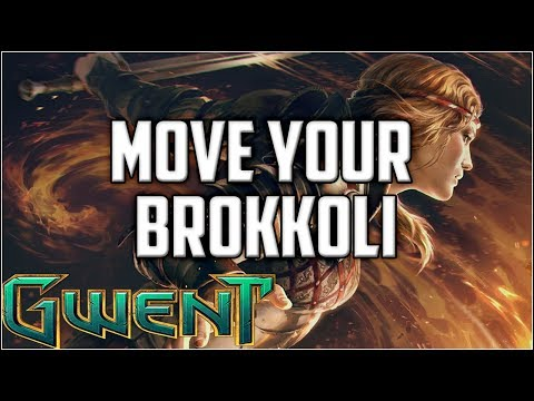 Gwent Movement Scoiatael ~ Move Your Brokkoli ~ Gwent Ranked Gameplay Deck Guide
