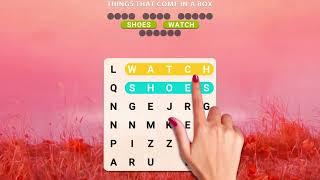 शब्द खोज खेल, छिपे हुए शब्द खोजें screenshot 3