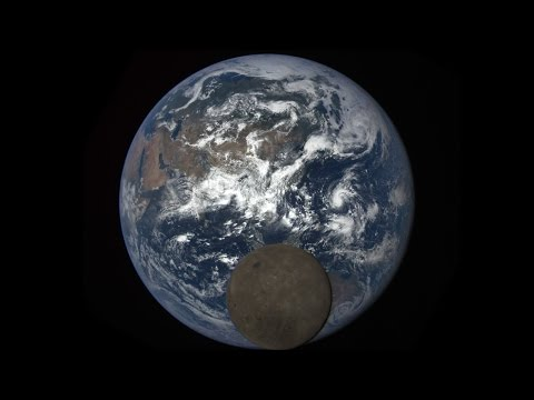 Far side of the Moon seen by DSCOVR (4K)