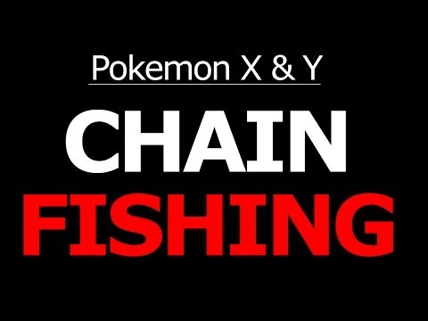 Chain Fishing Pokemon X And Y Fishing For Shiny Pokemon