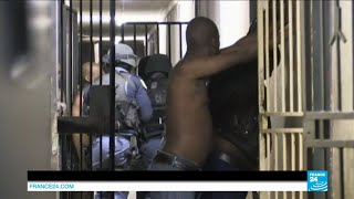 AFRIQUE DU SUD - Démonstration de force de l